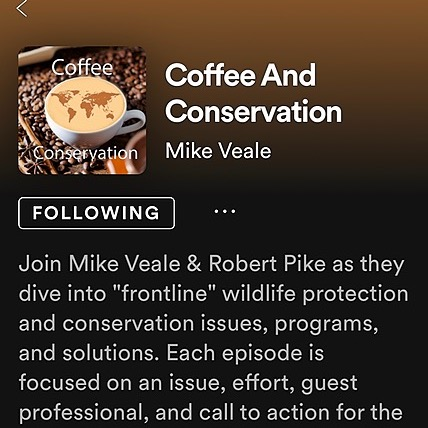 Coffee and Conservation Podcast with Mike Veale