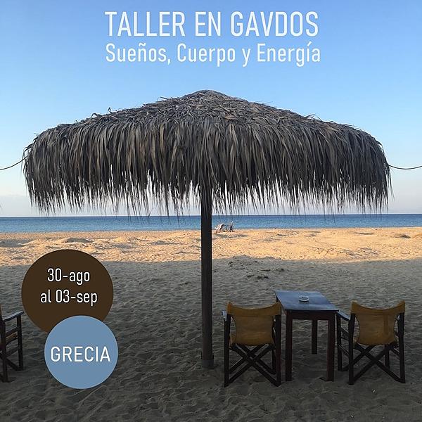 Mireia Darder Gavdos (Grecia): Taller Sueños, Cuerpo y Energía Link Thumbnail | Linktree