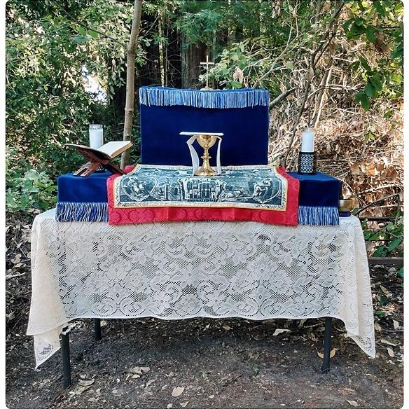 Santa Cruz Anglican San Lorenzo Valley Holy Communion Link Thumbnail | Linktree