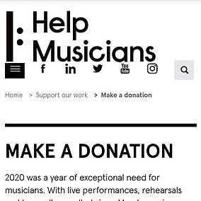 Donate 2 Help Musicsweetz Fund Now