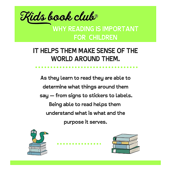 Blog - Why reading is important for children