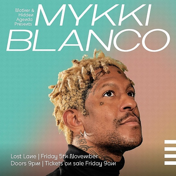 Mother Mykki Blanco live at Lost Lane Link Thumbnail | Linktree