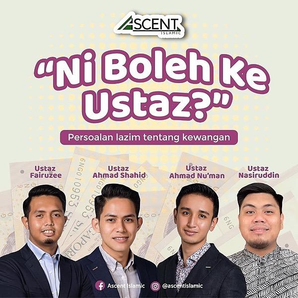ContactUs@AscentIslamic Ni Boleh Ke Ustaz? Questions on Islamic Financial Planning Link Thumbnail   Linktree