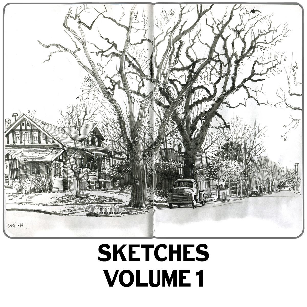 @paulheaston Book: Sketches Vol 1 Link Thumbnail | Linktree