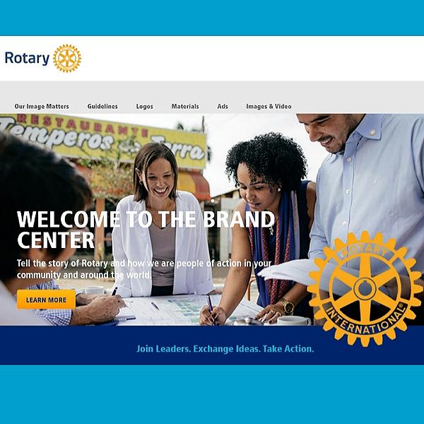 Rotary Brand Center (Login needed)