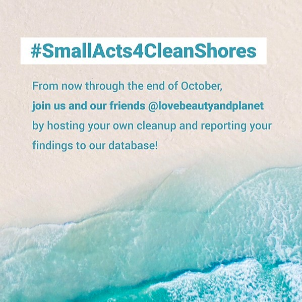 #SmallActs4CleanShores