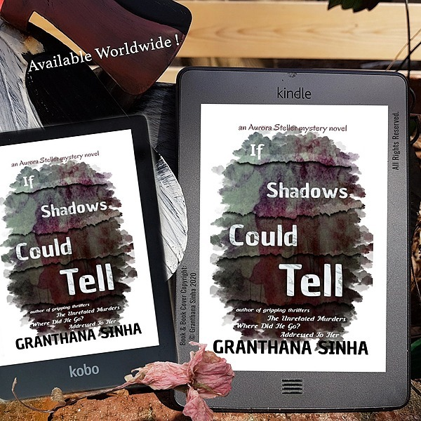 Granthana Sinha LINKS My Mystery-Thriller Novel - If Shadows Could Tell (Apple Books) Link Thumbnail   Linktree