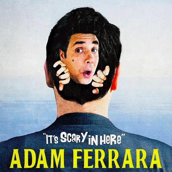 """@AdamFerrara 🎧     LISTEN 👉NEW ALBUM NOW AVAILABLE:  """"It's Scary in Here"""" Link Thumbnail 