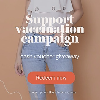 @joeylfashion Claim Cash voucher ! Support Vaccination Campaign, submit your my.sejahtera vaccination status here  Link Thumbnail | Linktree
