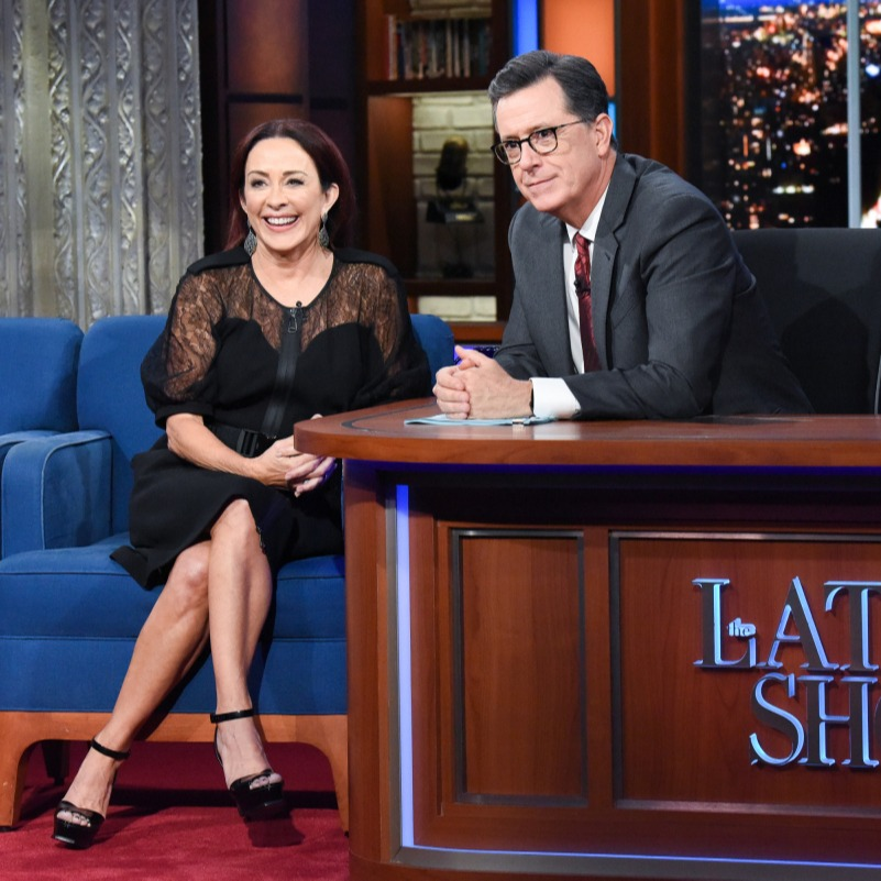 @patriciaheaton The Late Show w/ Stephen Colbert Link Thumbnail   Linktree