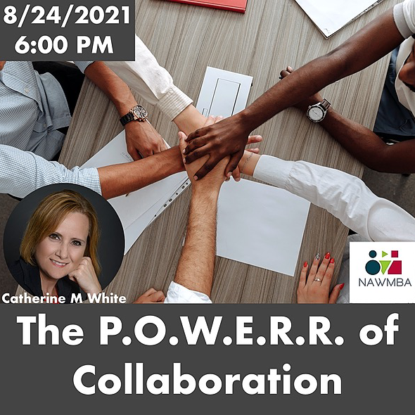 """http://www.nawmbaseattle.org 8/24 (Tuesday) at 6:00 PM - Leadership """"The P.O.W.E.R.R. of Collaboration"""" Link Thumbnail 