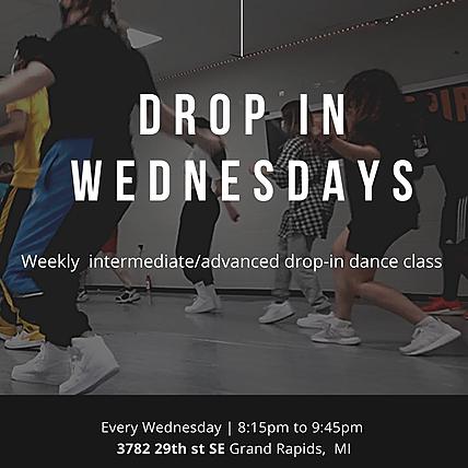 CLASS: Drop In Wednesdays