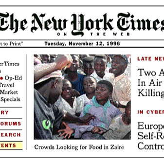 The Early Days of the NYT Online (NYT, Nieman Lab, Poynter and more)