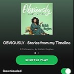Akilah Hughes Obviously PLAYLIST on Spotify Link Thumbnail   Linktree