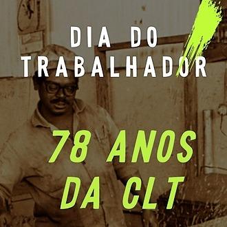 Dia do Trabalhador- Live Comemorativa