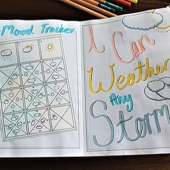 """@fuzzycomma Alison Camacho UDEMY """"Bullet Journaling for Wellness"""" course Link Thumbnail 