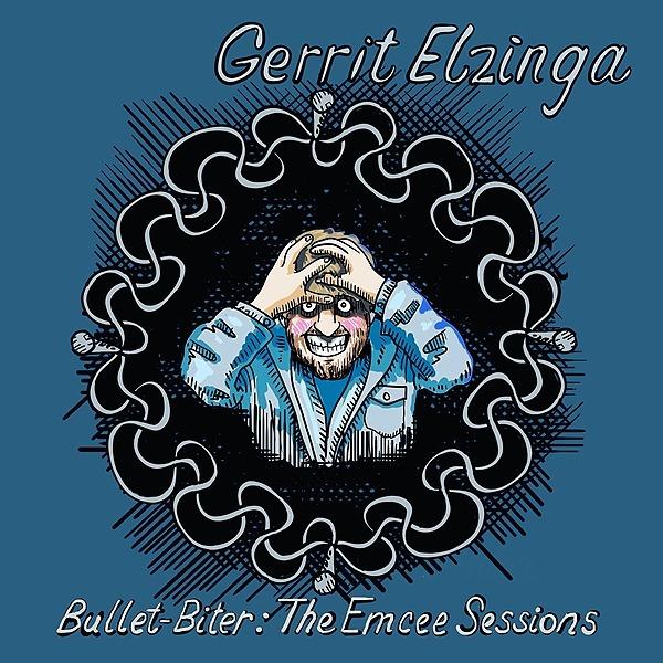 "Surviving Comic Gerrit Elzinga Album #2 - ""Bullet-Biter: The Emcee Sessions"" Link Thumbnail   Linktree"