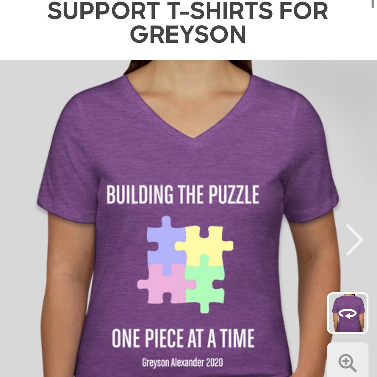 @buildingthepuzzle Autism Awareness T-Shirts Link Thumbnail | Linktree