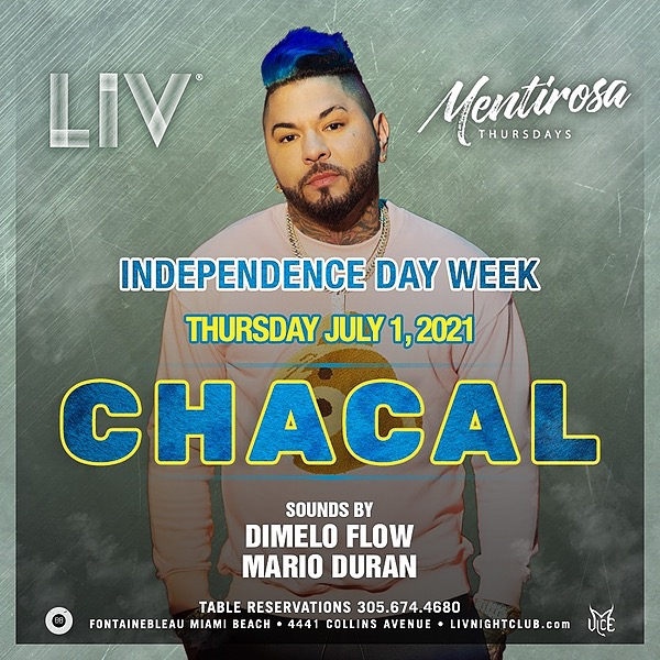 @chacalrlm Chacal @ LIV [Tickets] Link Thumbnail   Linktree
