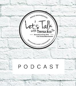 @lets_talk_studio Let's Talk with Teresa Ann Podcast Link Thumbnail   Linktree