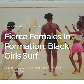 Black Girls Surf Fierce Females In Formation: Black Girls Surf Link Thumbnail   Linktree