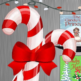 @Ms.Menji Candy Cane Library Link Thumbnail | Linktree