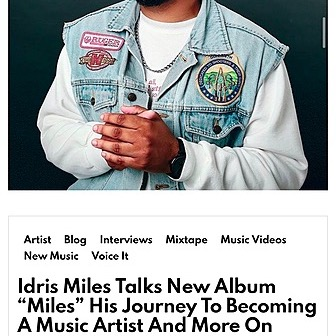 CHECK OUT MY INTERVIEW ON @THEPROGRESSREPORT101