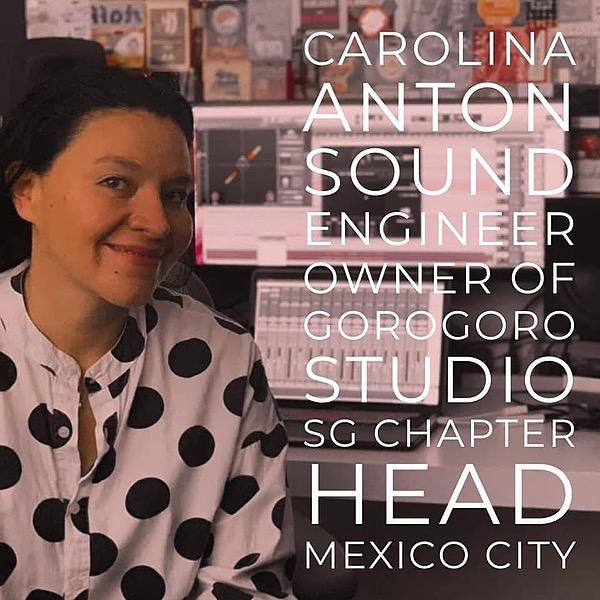 Carolina Antòn Caro Anton Soundgirls Profile Link Thumbnail | Linktree