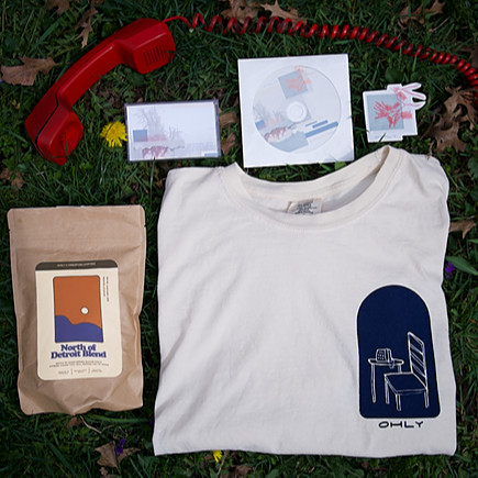 Buy Merch (T-shirts, Coffee, Cassettes)