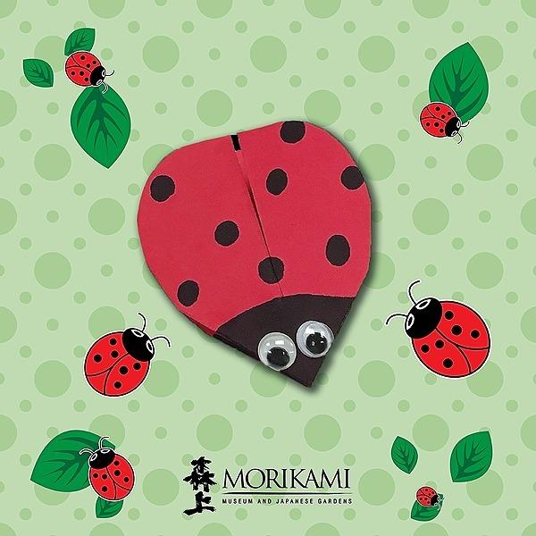 Kirigami Ladybug 🐞 Instructions