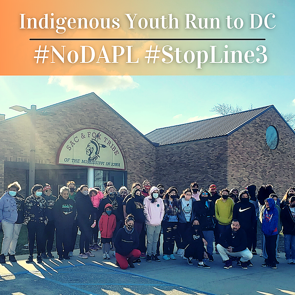 Indigenous Youth DC Run