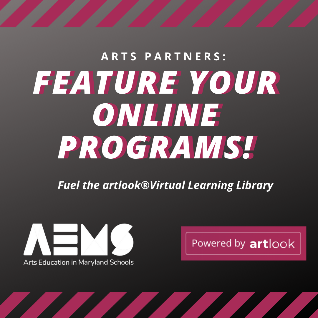 @AEMS artlook® Maryland: Info & Sign Up Link Thumbnail | Linktree
