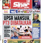@sinar.harian UPSR mansuh, PT3 dibatalkan Link Thumbnail | Linktree