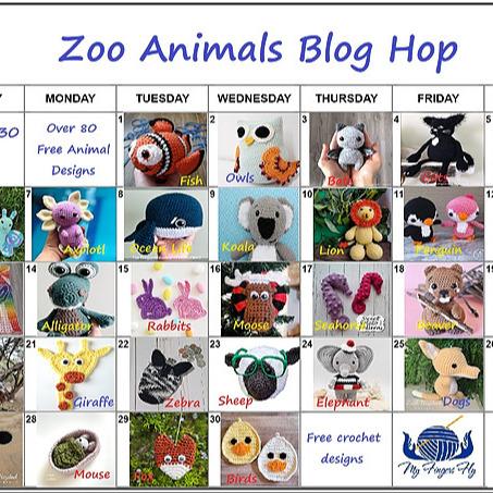 Ashlee Brotzell Designs Zoo Animal Blog Hop: My Fingers Fly Link Thumbnail | Linktree