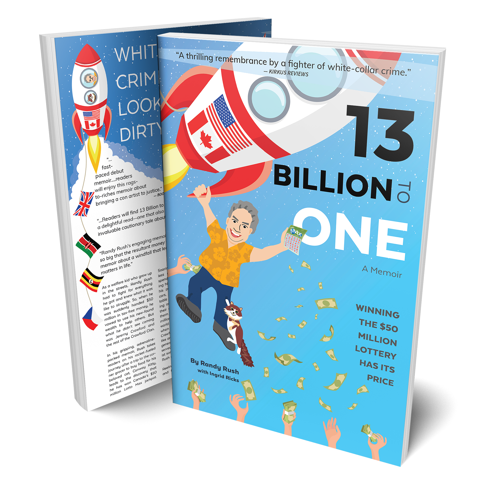 """Get the """"13 Billion to One"""" First Edition Collector's Copy in Paperback Now!"""