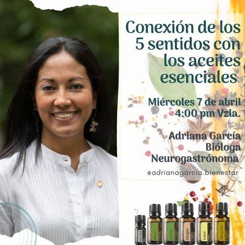 Conexión de los cinco sentidos con los aceites esenciales