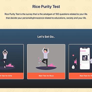 RicePurityTests