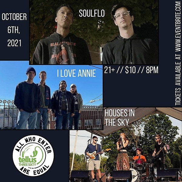 @Tellus36024EKing Soulflo with I Love Annie and Houses in the  Sky  10/6 Link Thumbnail | Linktree