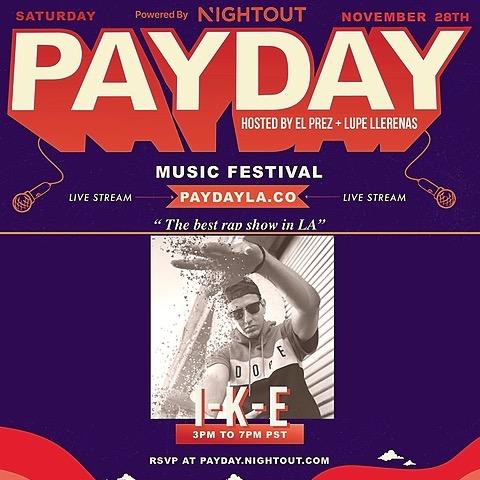 Live Performance @ PayDayLA