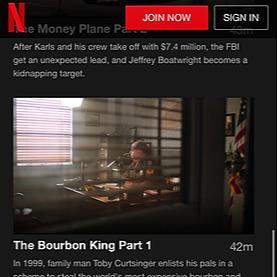 Actor.Traveler.Snacker🎬🌮 HEIST on Netflix. Episodes 5& 6, Bourbon King as Ronnie Lee Hubbard Link Thumbnail   Linktree