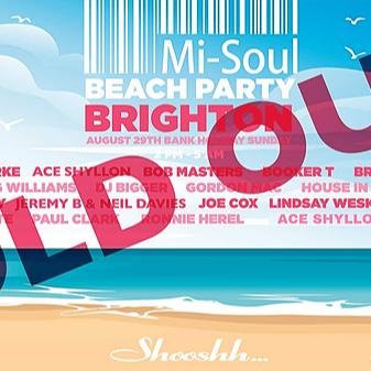 Mi-Soul Brighton Beach All-Dayer August