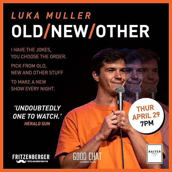 Get tickets to Luka Muller | Old / New / Other [April 29]