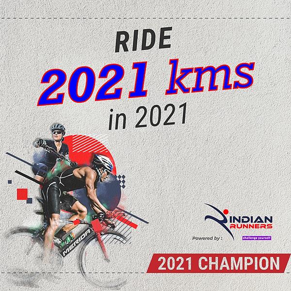 Indian Runners RIde 2021 Kms in 2021 Link Thumbnail   Linktree