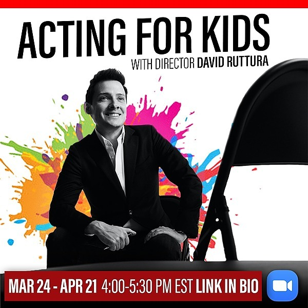 Acting For KIDS with David Ruttura