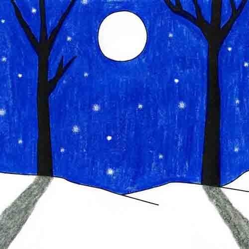 @artprojectsforkids Winter Landscape Link Thumbnail   Linktree