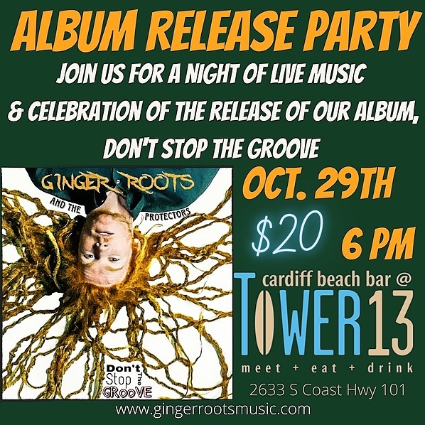 @gingerroots_music Album Release Party - Don't Stop the Groove Link Thumbnail   Linktree