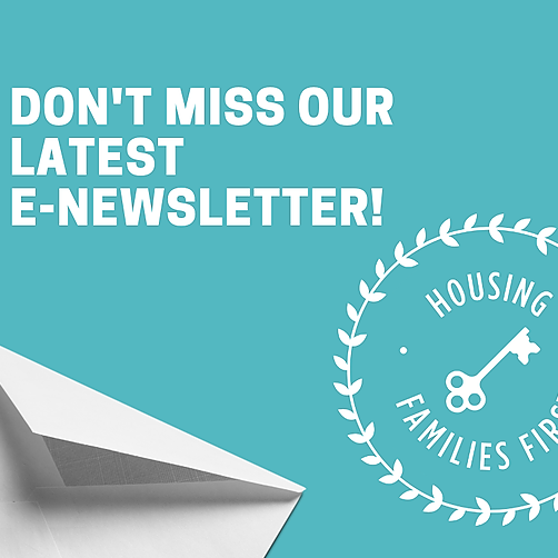 Sign up to receive our monthly e-newsletter