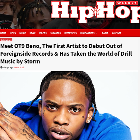 Recent Article - HipHop Weekly Magazine