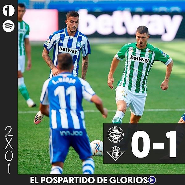 🎙️ 2x01   Tertulia del Alavés 0-1 Betis