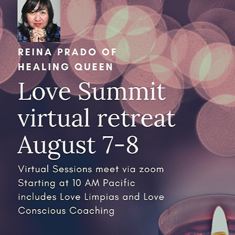 Love Summit, a Weekend Virtual Retreat August 7-8. Tickets available now